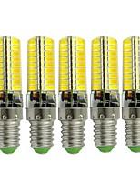 Недорогие -5 шт. 3 W LED лампы типа Корн 170-200 lm E14 72 Светодиодные бусины SMD 5730 Новый дизайн Декоративная Милый Тёплый белый Холодный белый 12-24 V