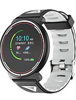 Недорогие -Smart Watch ST1 BT Поддержка уведомлений фитнес-трекер / монитор сердечного ритма / водонепроницаемый SmartWatch совместимые телефоны IOS / Android