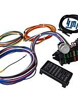 Недорогие -12 схема универсальный жгут проводов мышцы автомобиль хотрод улица стержень XL провода