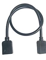 Недорогие -2pcs 30 cm 5-24 V Своими руками / Газонокосилка / Конвертер пластик Аксессуары для RGB LED Strip Light / для светодиодной полосы света