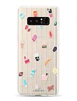 Недорогие -Кейс для Назначение SSamsung Galaxy S9 / S9 Plus / S8 Plus Защита от пыли / Ультратонкий / Полупрозрачный Кейс на заднюю панель Мультипликация ТПУ
