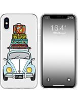 Недорогие -чехол для iphone x xs max xr xs задняя крышка мягкий чехол тпу творческий рисунок мультфильм автомобиль мягкое тпу для iphone5 5s se 6 6p 6s sp 7 7p 8 8p16 * 8 * 1