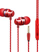 Недорогие -DUDAO X1B Наушники-вкладыши Проводное Мобильный телефон С микрофоном