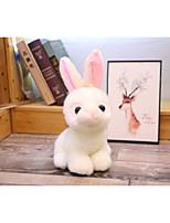 Недорогие -Rabbit Мягкие и плюшевые игрушки Товары для офиса обожаемый удобный 70% акрил / 30% хлопок Полиэстер / хлопок Фланель Все Игрушки Подарок 1 pcs