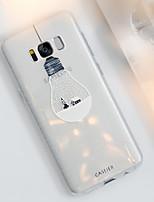 Недорогие -Кейс для Назначение SSamsung Galaxy S8 Plus / S8 / S7 edge Защита от пыли / Ультратонкий / Полупрозрачный Кейс на заднюю панель Мультипликация ТПУ