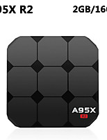 Недорогие -A95X R2 Android 7.1 Smart TV Box Amlogic S905W четырехъядерный Cortex A53 2 г оперативной памяти 16 г ROM Set Top Box
