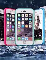 Недорогие -чехол для яблока iphone xs / iphone xr / iphone xs max / 7 8plus / 6splus / 6s ультратонкая задняя крышка с блестками блеск тпу