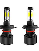 Недорогие -2pcs 9003 / H4 / HB2 Автомобиль Лампы 36 W Светодиодная лампа Противотуманные фары / Налобный фонарь Назначение Универсальный Все года