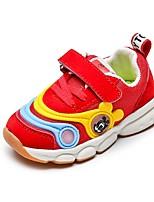 Недорогие -Мальчики Удобная обувь Сетка Спортивная обувь Маленькие дети (4-7 лет) Беговая обувь Черный / Серый / Красный Осень