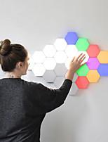 Недорогие -Квантовая лампа из светодиодов гексагональной модульной сенсорный квантовое освещение ночник магнитные шестиугольники творческий настенные украшения