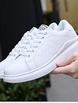 Недорогие -Муж. Комфортная обувь Полиуретан Лето Кеды Дышащий Черно-белый / Белый / Красный