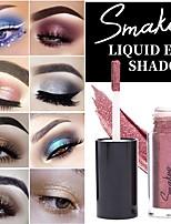 Недорогие -2019 smakup новый жидкий глаз shadownet красный взрыв длительный глаз тени теневая жидкость 10 цветов по желанию