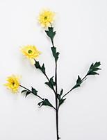 Недорогие -Искусственные Цветы 1 Филиал Классический Современный современный Ромашки Букеты на стол