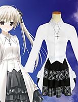 Недорогие -Вдохновлен Йосуга-но-Сора Касугано Сора Аниме Косплэй костюмы Японский Косплей Костюмы Юбки / Кофты Назначение Жен.