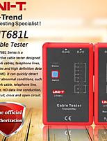Недорогие -Тестер кабеля uni-t ut681l Сетевой кабель / телефонная линия Тестер двойного назначения Светодиодный индикатор состояния / автоматическое отключение