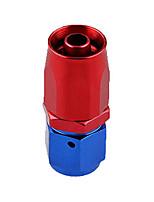 Недорогие -Профессиональный переходной фитинг с патрубком an6 для шлангов типа масло / топливо / газ 0 градусов