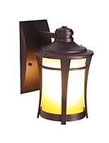 Недорогие -Открытый водонепроницаемый настенный светильник антикварный бра фонарь стеклянный плафон гардерн внутренний двор настенные светильники алюминиевые лампы
