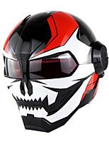 Недорогие -уникальный стиль мотоциклетный шлем винтаж ретро гонщик защитник головы мото анфас шлем-сияющий