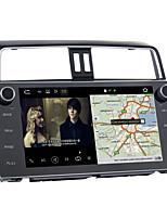 Недорогие -10.2inch 1 din android 8.0 автомобильный навигатор с сенсорным экраном автомобильный мультимедийный DVD-плеер для Toyota новый Prado 2018