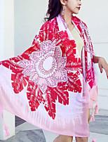Недорогие -Высшее качество Пляжное полотенце, Мода 100% полиэстер 1 pcs