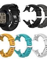cheap -Watch Band for SUUNTO D6 Novo Suunto Classic Buckle Silicone Wrist Strap
