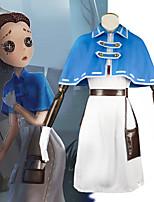 Недорогие -Вдохновлен Идентичность V Косплей Аниме Косплэй костюмы Японский Косплей Костюмы Платье / Воротник-шаль / Шапки Назначение Жен. / Дорожный поясной кошелек