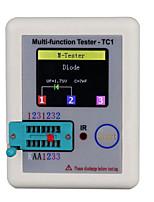 Недорогие -daniu lcr-tc1 1.8inch цветной дисплей многофункциональный транзистор с подсветкой TFT для диода триод конденсатор резистор транзистор lcr esr npn pnp mosfet
