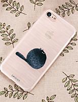 Недорогие -Кейс для Назначение Apple iPhone XS / iPhone XR / iPhone XS Max Защита от пыли / Ультратонкий / Полупрозрачный Кейс на заднюю панель Мультипликация ТПУ
