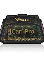 Недорогие -icar pro bluetooth / bluetooth 4.0 с низким энергопотреблением умный сон obd2 автомобильный детектор для vgate