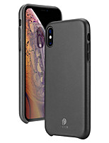 Недорогие -чехол для яблока iphone xs / iphone xr / iphone xs max ультратонкая задняя крышка из натуральной искусственной кожи