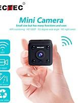 Недорогие -Inqmega мини Wi-Fi камера 1080p ip-камера беспроводная малый видеонаблюдения инфракрасного ночного видения обнаружения движения слот для карт памяти sd аудио приложение