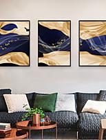 Недорогие -Отпечаток в раме Набор в раме - Абстракция Поп-арт Полистирен Иллюстрации Предметы искусства