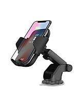 Недорогие -автоматическое инфракрасное ци беспроводное зарядное устройство вентиляционное отверстие автомобильное крепление 10 Вт держатель для быстрой зарядки для iphone 8 x xs max xr samsung s9 s8