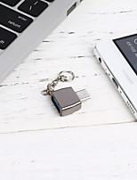 Недорогие -OTG / Type-C Адаптер 0.2m (0.65Ft) OTG сплав цинка / ПВХ Адаптер USB-кабеля Назначение Huawei