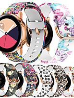 Недорогие -Ремешок для часов для Ticwatch 2 / Ticwatch E TicWatch Спортивный ремешок / Классическая застежка силиконовый Повязка на запястье