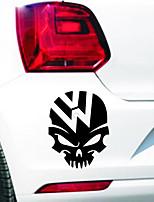 Недорогие -Мода череп наклейки автомобиля наклейки стайлинга кузова масляный бак крышка стикер универсальный