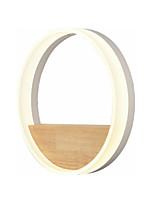 Недорогие -светодиодный круг настенный светильник новый дизайн современные настенные светильники настенные светильники в нордическом стиле&усилитель; бра / скрытый настенный светильник спальня / кабинет /