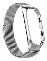 Недорогие -Ремешок для часов для Mi Band 3 Xiaomi Миланский ремешок Нержавеющая сталь Повязка на запястье