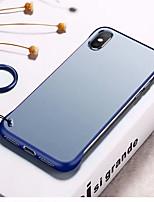 Недорогие -Кейс для Назначение Apple iPhone XS / iPhone XR / iPhone XS Max Защита от удара / Прозрачный Кейс на заднюю панель Прозрачный ПК
