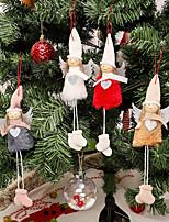 Недорогие -новогодние украшения кулон ангел плюшевые куклы новогодняя елка креативное украшение шарм