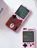 Недорогие -Кейс для Назначение Apple iPhone XS / iPhone XR / iPhone XS Max С узором / Игровой случай Кейс на заднюю панель Животное / Мультипликация ТПУ
