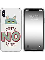 Недорогие -чехол для iphone x xs max xr xs задняя крышка мягкий чехол тпу творческий рисунок мультфильм кошка мягкий тпу для iphone5 5s se 6 6p 6s sp 7 7p 8 8p16 * 8 * 1