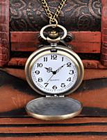 Недорогие -Муж. Карманные часы Кварцевый Старинный Синий / Золотистый Cool Аналого-цифровые Винтаж - Золотой Синий