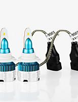 Недорогие -2шт автомобиля светодиодные фары hb3 9005 hb4 9006 авто лампы фар автомобиля 54 Вт 6000lm 6000 К светодиодные 12 В