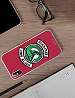 Недорогие -чехол для яблока iphone xr пылезащитный / ультратонкий / с рисунком на задней крышке мультяшный мягкий тпу / водонепроницаемый / личность творчество мода чехол для телефона чехол