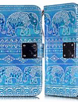 Недорогие -Кейс для Назначение SSamsung Galaxy S9 / S9 Plus / S8 Plus Кошелек / Бумажник для карт / со стендом Чехол Животное Кожа PU