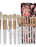 Недорогие -профессиональный Кисти для макияжа 12шт Мягкость Новый дизайн удобный Деревянные / бамбуковые за Косметическая кисточка