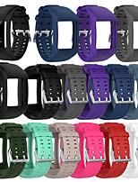 Недорогие -ремешок для часов для TomTom Runner 2 / Polar M600 Polar Sport Band силиконовый ремешок
