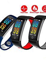Недорогие -Смарт Часы Цифровой Современный Спортивные силиконовый 30 m Защита от влаги Пульсомер Bluetooth Цифровой На каждый день На открытом воздухе - Синий Красный Серый