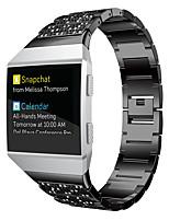 Недорогие -Ремешок для часов для Fitbit ionic Fitbit Спортивный ремешок / Классическая застежка / Дизайн украшения Нержавеющая сталь Повязка на запястье